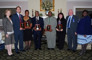 2012 Humanitarian Awards Recipients honored by the Jersey Shore Chapter