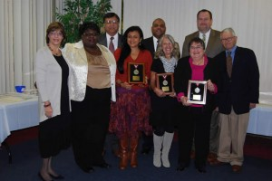 2012 Humanitarian Awards Recipients honored by the Greater Bergen County Chapter