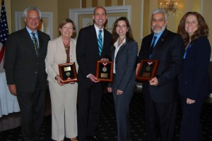 2012 Humanitarian Awards Recipients honored by the Hudson County Chapter