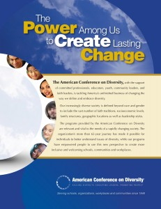 The Power Among Us to Create Lasting Change