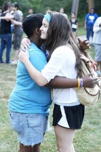 last day hugs