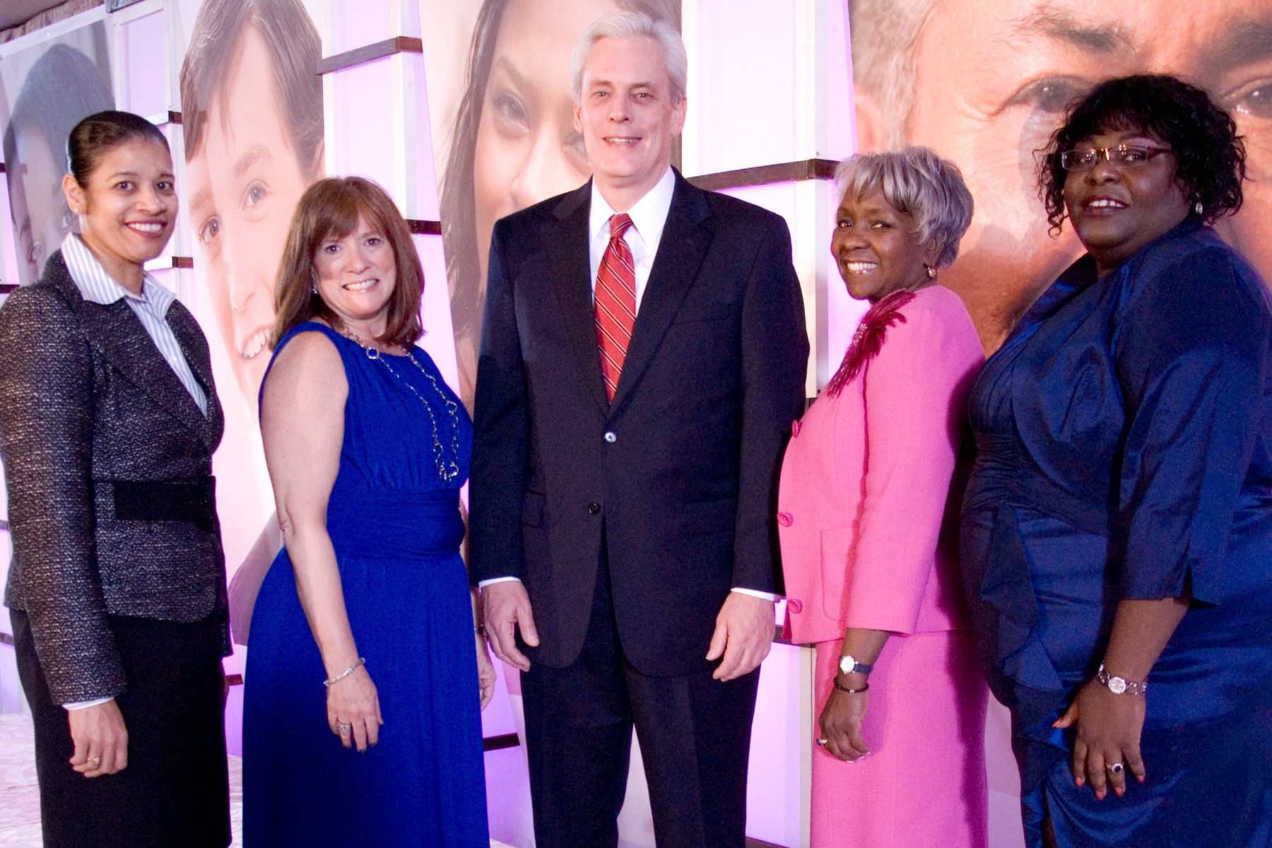 2013 Honorees w. Elizabeth & Theresa