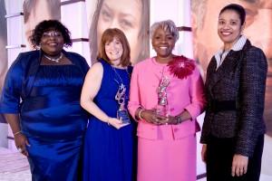Elizabeth, Theresa & Prudential Honorees