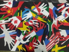 David Persaud hands painting