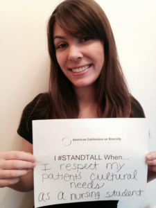 #STANDTALL & Support the American Conference on Diversity